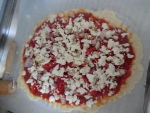 Pizza mit Feta1