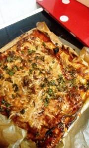 Lasagne mit Gemüse und Ricotta3