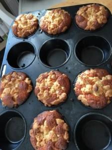 Rhabarbermuffins 2